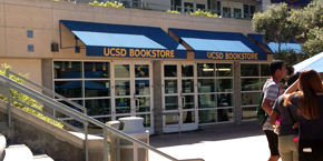 UC San Diego / Bookstore exterior, PC Plaza