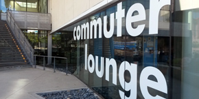 Exterior of Commuter Lounge, Price Center, UC San Diego