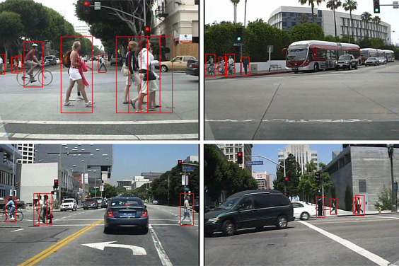 UC San Diego / Pedestrian detection system developed by Statistical Visual Computing Lab