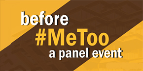 UC San Diego - CARE at the Sexual Assault Resource Center, #metoo panel, 30th anniversary, text illustration