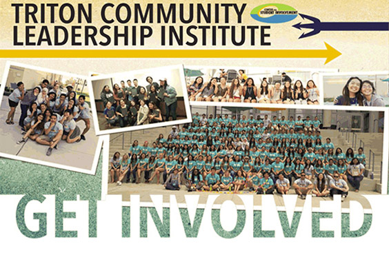 Triton Community Leadership Institue / UC San Diego (groups of students - photo collage)