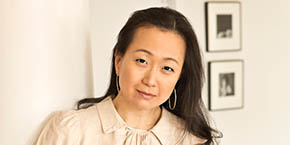 Photo portrait - New York Times bestselling author Min Jin Lee