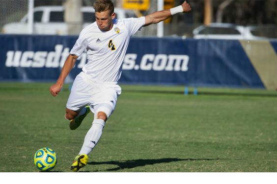 Kuba Waligorski UCSD men's soccer team kicks off the season