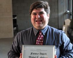 2011 Academic Integrity Faculty Award winner