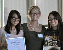 2011 Academic Integrity Student Award winner