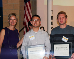 2013 Academic Integrity Student Award winners