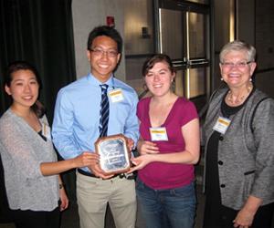 2014 Academic Integrity Ally Award winners