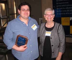 2014 Academic Integrity Faculty Award winner