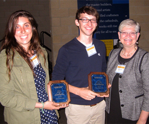 2014 Academic Integrity Student Award winners