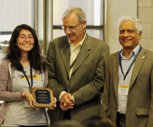 2015 Academic Integrity Student Award winner Berenice Almauger