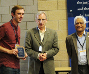 2015 Research Integrity Student Award winner Christopher Deboever
