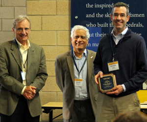 2015 Academic Integrity Faculty Award winner Mike Tauber