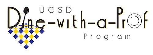 UCSD Dine with a Prof program logo