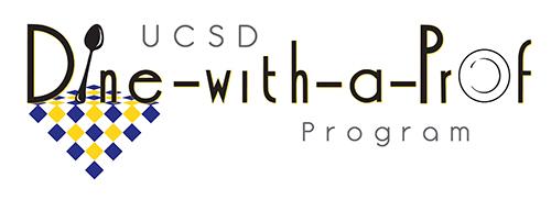 UCSD Dine with a Prof program logo