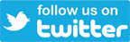 Follow Us on Twitter logo