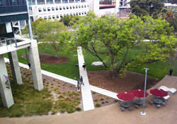Student Services Center courtyard
