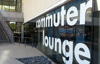 Exterior of Commuter Lounge in Price Center East, UC San Diego