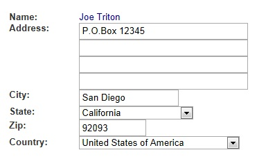 Image of P.O. Box address