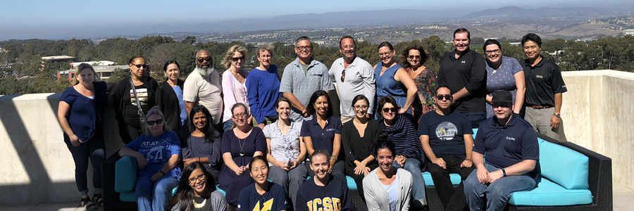 UC San Diego Registrar's Office team - group photo 2018