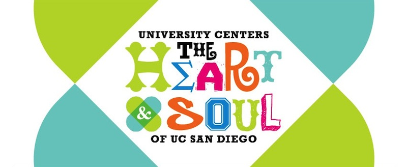 UCSD University Centers logo banner