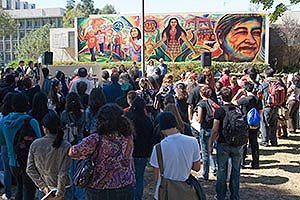 Community - Group at UCSD Mural