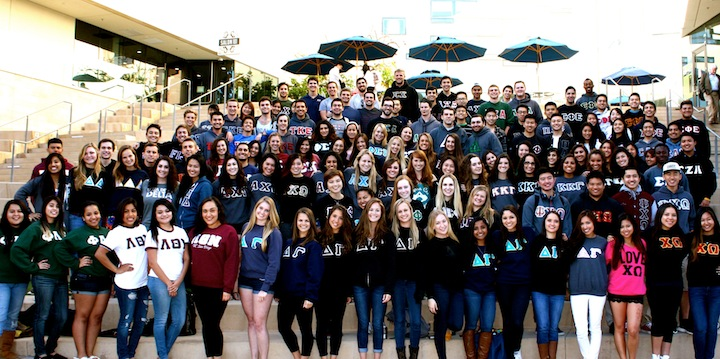 Greek Life Group Shot 2014