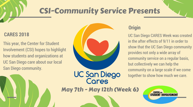 UCSD Cares flyer