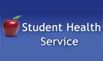 Student Health Service text logo