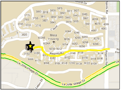 Mesa Family Lounge Map