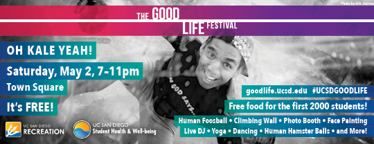 The Good Life Festival, May 2, 2015
