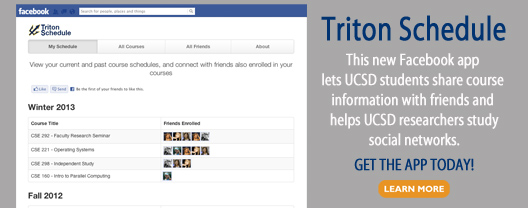 Get the Triton Schedule Facebook app